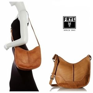 Frye Cara Leather Saddle Bag